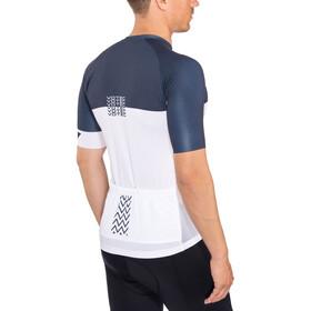 VOTEC Block Pattern Jersey Uomo, bianco/blu